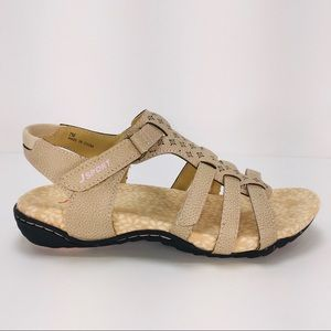 JSport MIA Smoky Comfortable Sandals Flats Size 7M